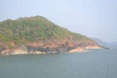 Пляж Gokarna стоковые изображения