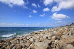 Пляж Gremni, лефкас Стоковые Фото