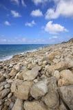 Пляж Gremni, остров лефкас, южная Греция Стоковое Изображение