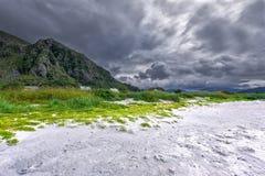 Пляж Grotlesanden Стоковая Фотография RF