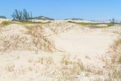 Пляж Guarita на Torres Стоковое фото RF