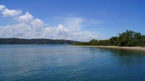 Пляж Haitises, Samana, Доминиканская Республика. стоковое изображение rf