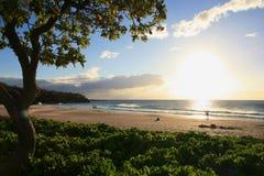 Пляж Hapuna Стоковые Изображения