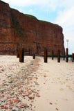 Пляж Heligoland Стоковое Изображение RF