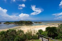 Пляж Hoshizuna песка звезды отсутствие Hama Стоковые Фото