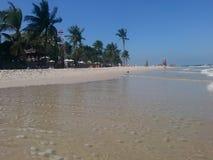 Пляж Hua Hin Стоковое Изображение