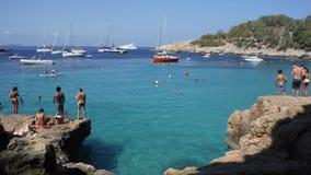 Пляж Ibiza Стоковое Фото