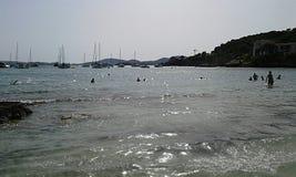 Пляж Illetas Стоковое фото RF