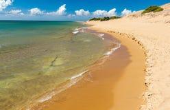 Пляж Issos Стоковые Фотографии RF