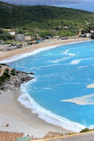 Пляж Jali, Албания Стоковые Фотографии RF