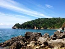 Пляж Jaz Стоковое Изображение RF
