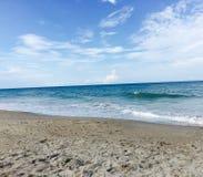 пляж jensen Стоковое фото RF