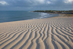 Пляж Jericoacoara Стоковые Изображения RF