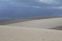 Пляж Jericoacoara Стоковое Фото