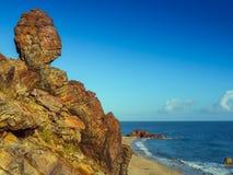 Пляж Jericoacoara Стоковая Фотография RF