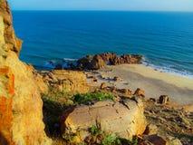 Пляж Jericoacoara стоковые фотографии rf