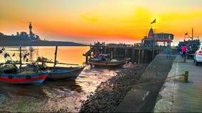 Пляж jt Daman и diu стоковые изображения
