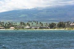 Пляж Kahului в Мауи, Гаваи Стоковые Изображения RF