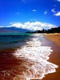 Пляж Kama'ole Стоковое Изображение RF