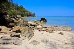 Пляж Kamala, Пхукет, Таиланд Стоковая Фотография