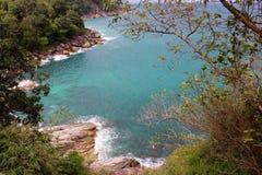 Пляж Kamala, Пхукет, Таиланд Стоковое Изображение