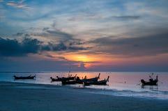 Пляж Kata, Пхукет, Таиланд Стоковое Фото