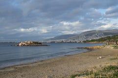 Пляж Kavouri в Афинах Стоковое Изображение