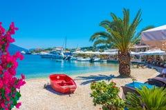Пляж Kefalonia, Греция Стоковые Фотографии RF