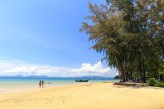 Пляж Khlong Muang, Таиланд Стоковая Фотография RF
