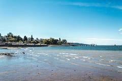 Пляж Kitsilano в Ванкувере, Канаде Стоковые Фото