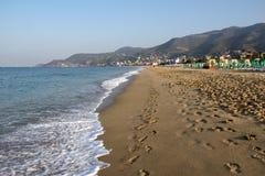 Пляж Kleopatra Стоковые Изображения RF