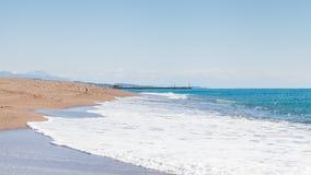 Пляж Kleopatra Стоковые Изображения