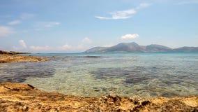 Пляж Koufonisia видеоматериал