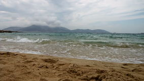 Пляж Koufonisia акции видеоматериалы