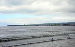 Пляж, Lahinch, Ирландия Стоковая Фотография