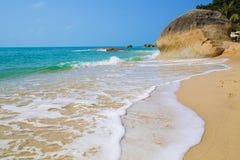 Пляж Lamai, Koh Samui, Таиланд Стоковые Фотографии RF