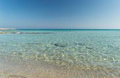 Пляж Landa (золотой пляж) Стоковое Изображение