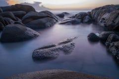 Пляж Lanhinkhow Стоковые Изображения RF