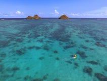Пляж Lanikai Стоковая Фотография RF