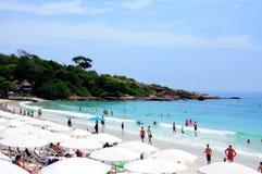 Пляж Larn Koh Стоковое фото RF