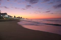 Пляж Leblon, Рио-де-Жанейро - Бразилия Стоковые Фото