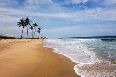 Пляж Lekki в Лагосе Стоковое фото RF