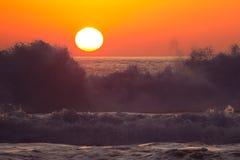 Пляж Llandudno, Кейптаун Стоковое Фото