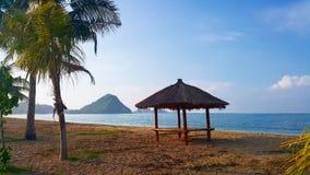 Пляж Lombok Kuta Стоковая Фотография