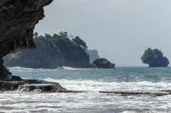 Пляж Madasari Стоковое фото RF