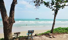 Пляж Maepim Стоковое Изображение RF