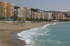 Пляж Malagueta стоковая фотография