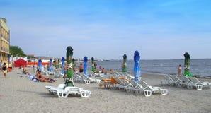 Пляж Mamaia, Румыния Стоковое Фото