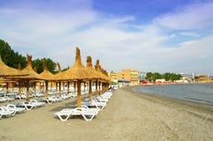Пляж Mamaia, Румыния Стоковая Фотография