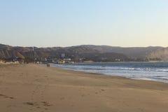 Пляж Mancora, Перу Стоковая Фотография